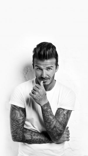 Wallpaper David Beckham Sports Face iPhone 8 wallpaper
