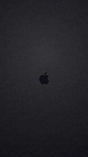 Wallpaper Tiny Apple Logo Dark iPhone 8 wallpaper