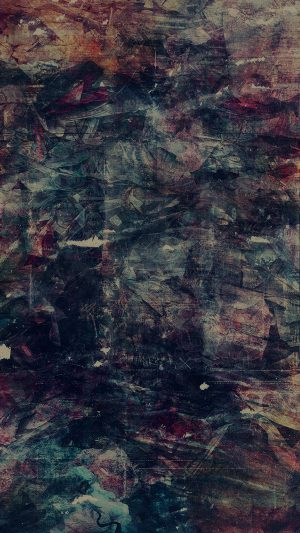 Wonder Lust Art Illust Grunge Abstract Dark iPhone 8 wallpaper
